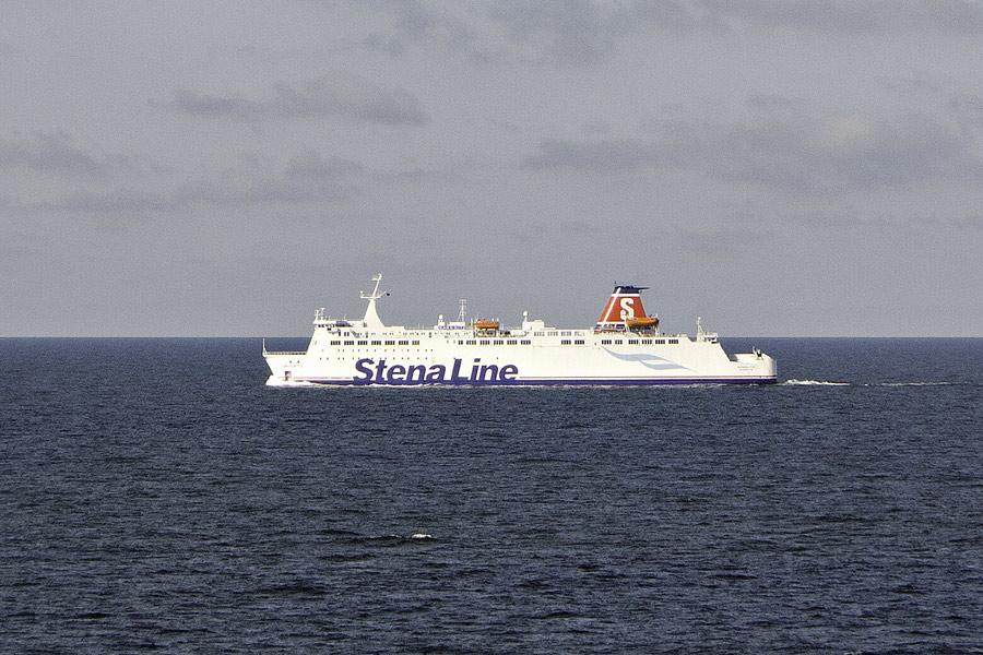 Fährschiff Richtung Schweden