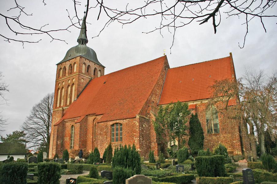 St. Katharinen Kirche in Trent im Jahr 2005