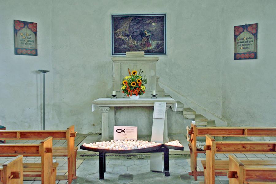 Altar Kapelle Vitt im Jahr 2005