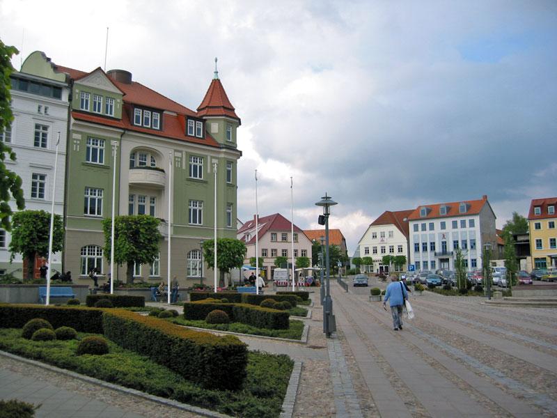 Marktplatz von Bergen