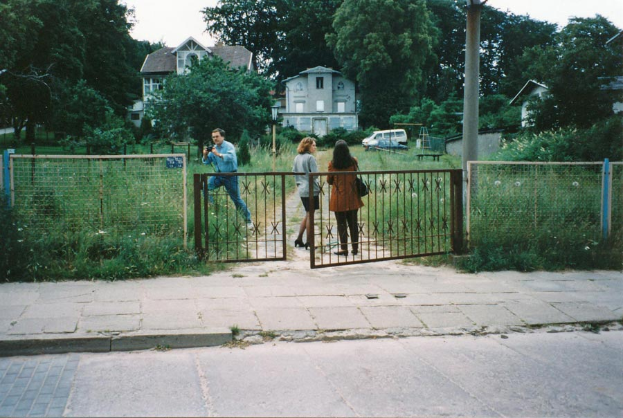 Parkresidenz Concordia Bauzeit 1996