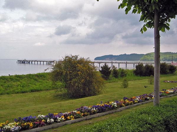 Die Seebrücke von Binz