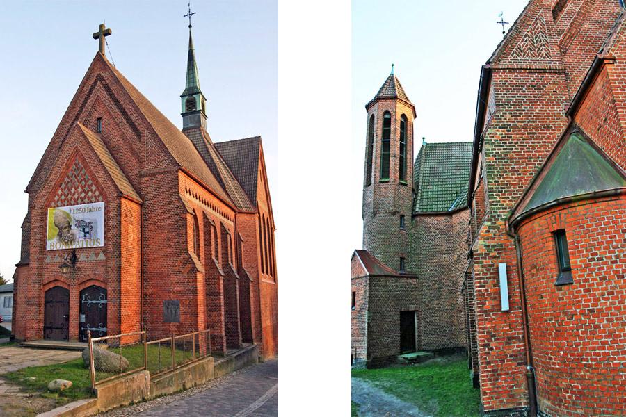 St. Bonifatius Kirche Bergen 2005
