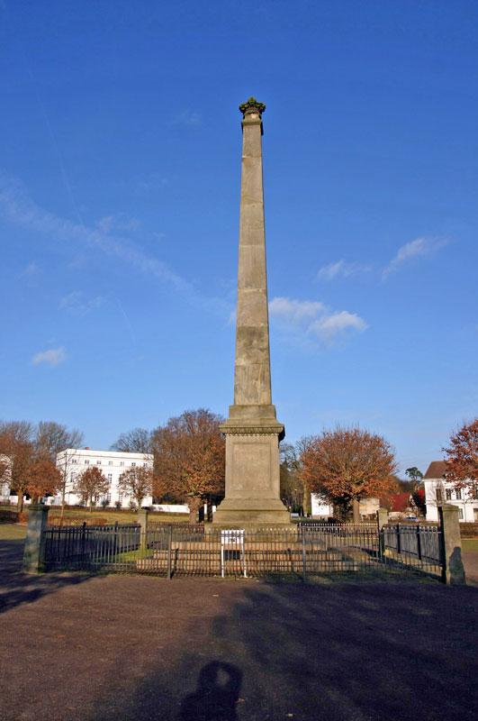 imCircus von Putbus - Denkmal zur Gründung des Ortes Putbus 1810 von Malte Fürst zu Putbus