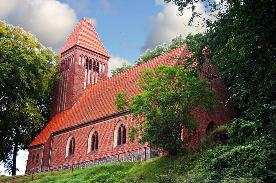 Evangeliche Kirche in Binz 2005
