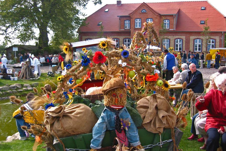 Erntedankfest auf dem Rügenhof