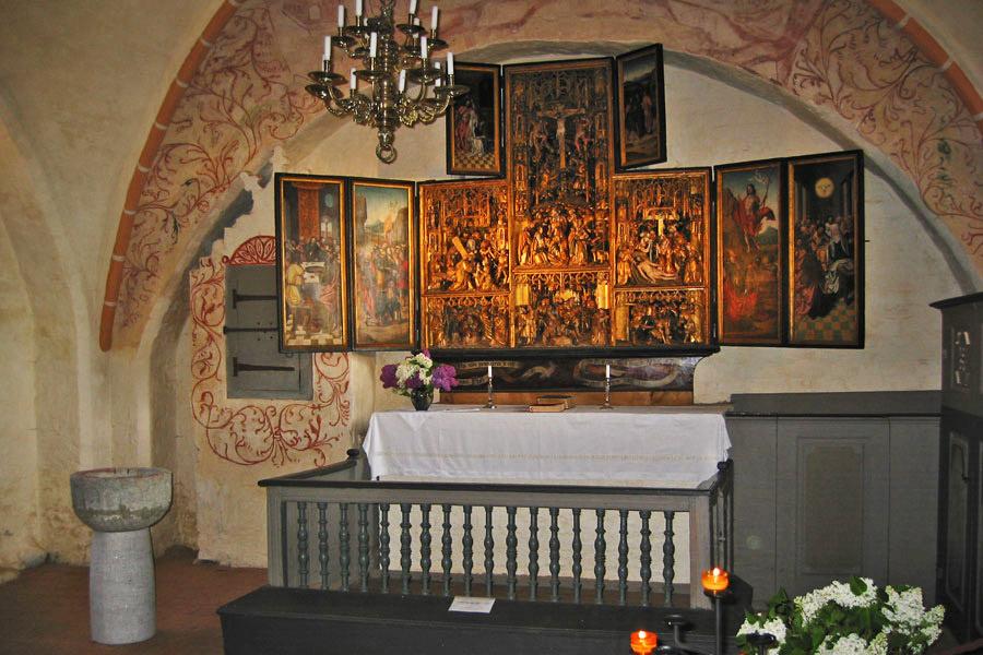 Altar St. Marien Kirche Waase 2005