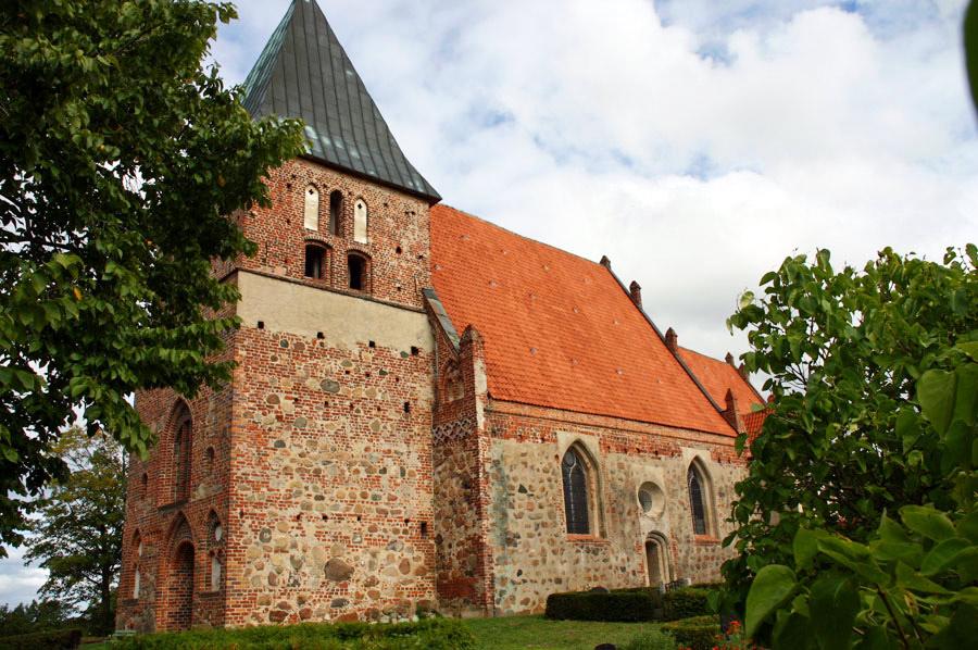 St. Pauli Kirche Bobbin im Jahr 2005