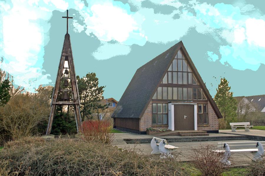 Kapelle Glowe im Jahr 2005