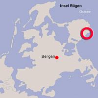 Karte Lage Sassnitz