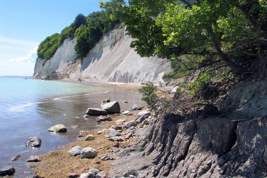 Strand von Sellin Richtung Baabe