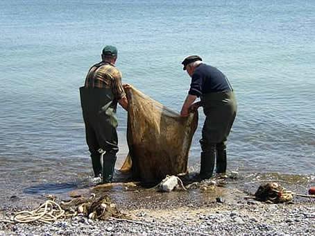 Fischer am Wasser