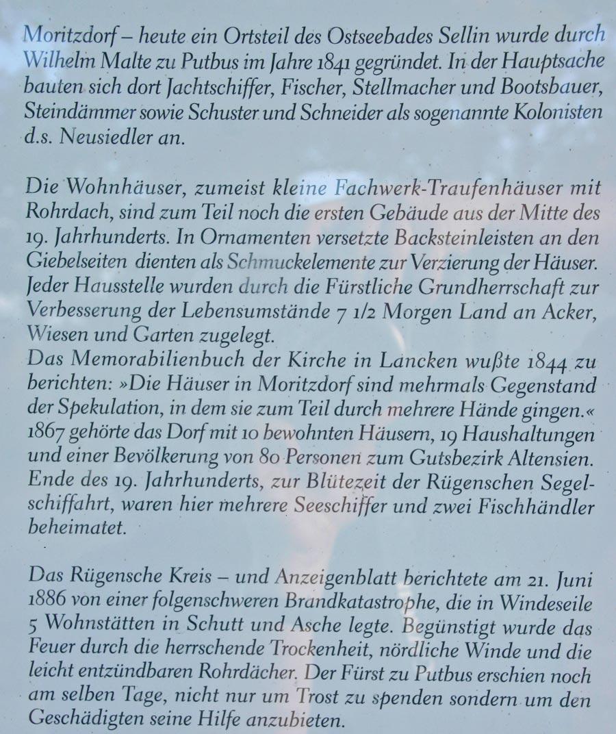 Moritzdorf Schild 1