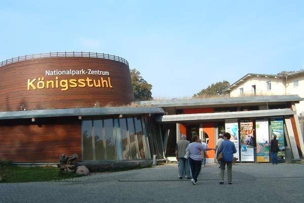 Nationalpark Zentrum Königsstuhl im Jasmund