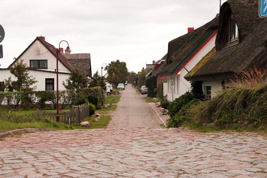 Blick ins Dorf Neu Reddevitz