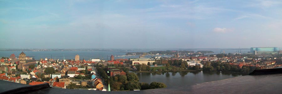 Stralsund Panorama Werft