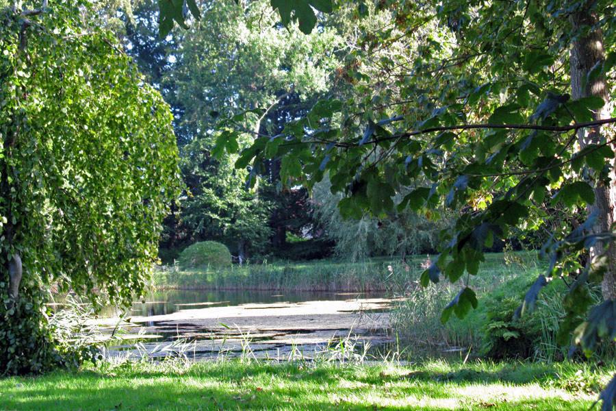 Schlosspark Gutshaus Kartzitz