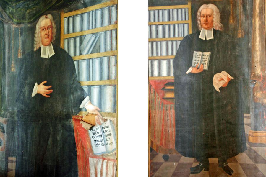 Pastoren der St. Michael Kirche im Jahr 2005