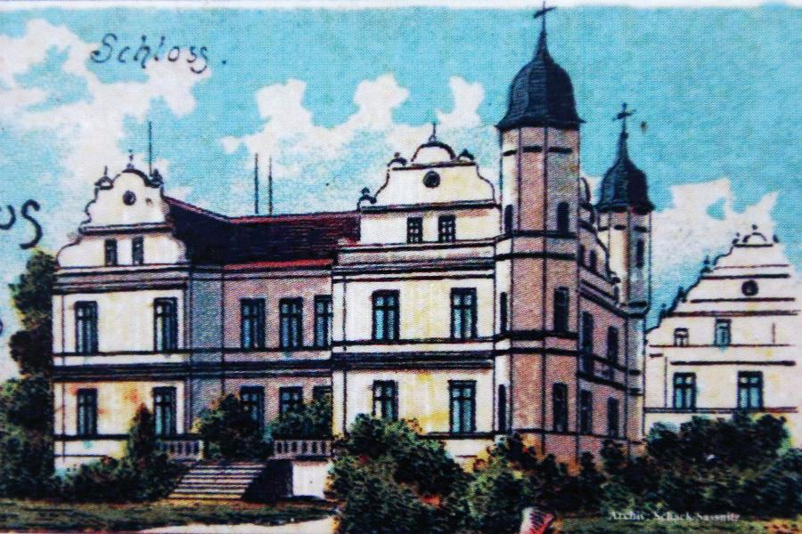 Gutshaus Pansevitz Rückblick 19. Jahrhundert