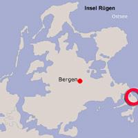 Karte Lage Baabe