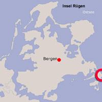 Karte Lage Göhren