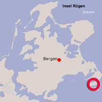 Karte Lage Groß Zicker