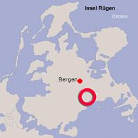 Karte Lage Putbus
