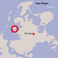 Karte Lage Waase