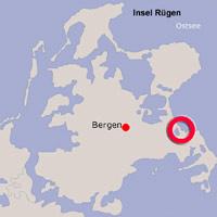 Karte Lage Binz