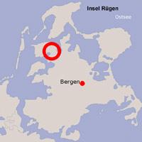 Karte Lage Trent