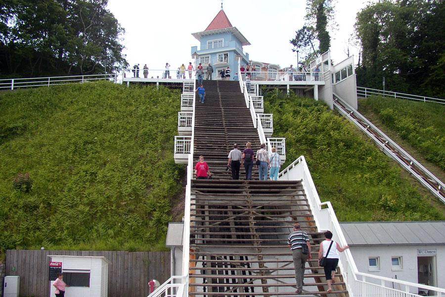 Seebrücke Sellin Treppe