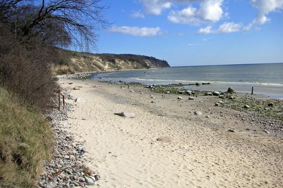 Strand vom Südperd bei Göhren