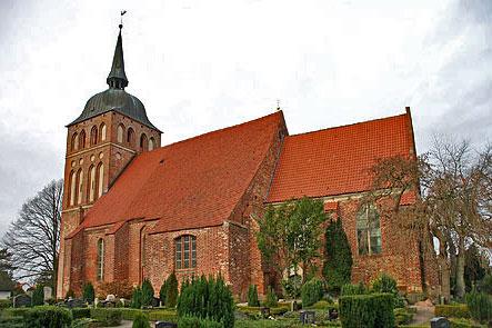 St. Katharinen Kirche Trent Januar 2005