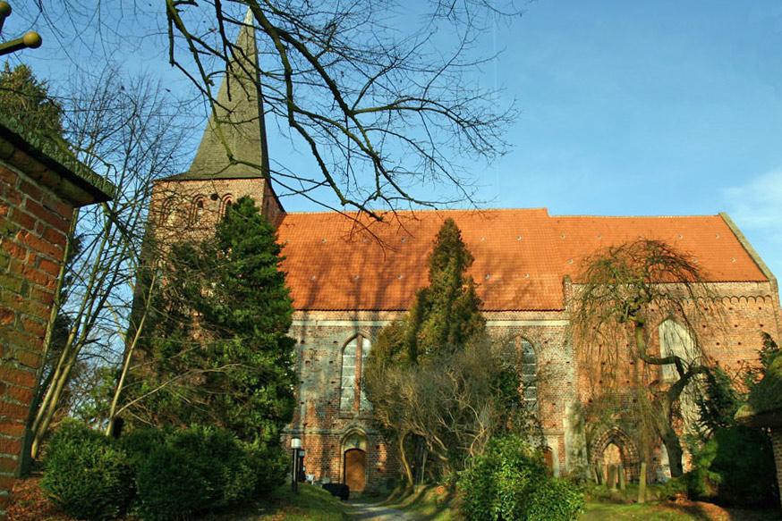 St. Maria Magdalena Kirche in Vilmnitz 2005