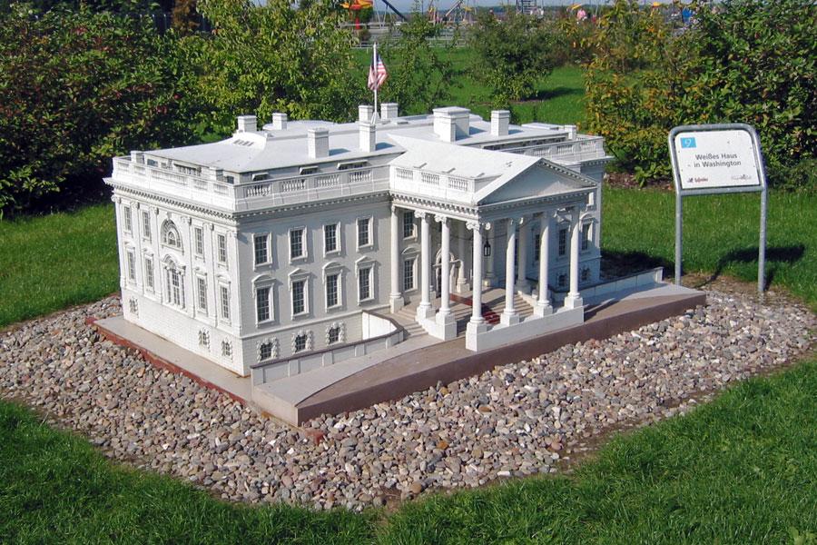 Miniatur Weißes Haus