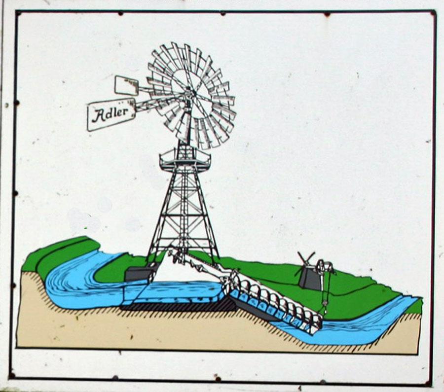 Zeichnung Windschöpfwerk Lobbe