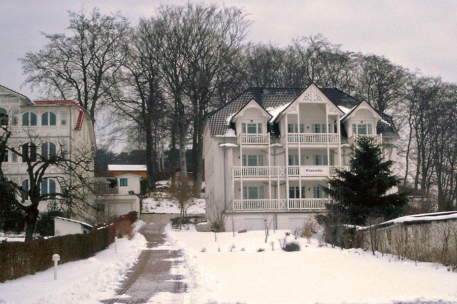 Parkresidenz Concordia im Winter