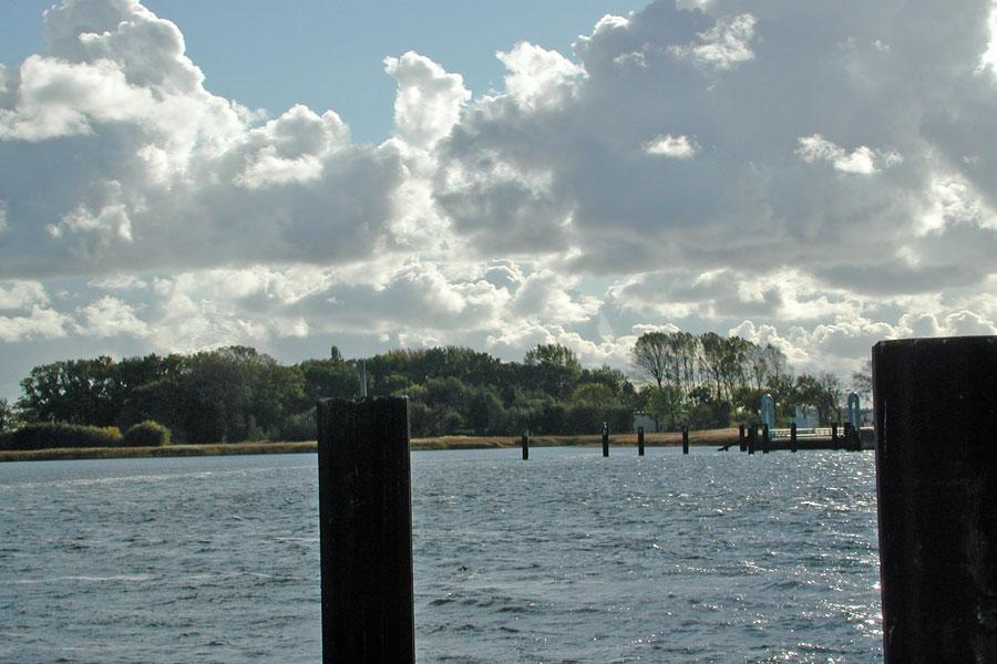 Halbinsel Wittow - Blick von der Fähre