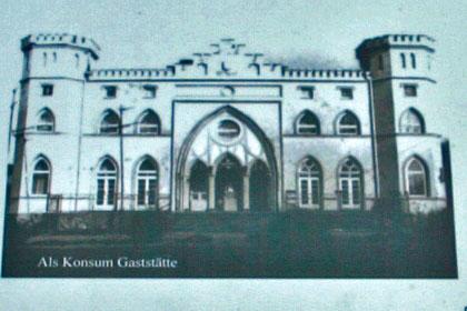 Zeichnung Jagdschloss Karnitz