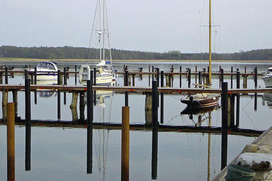 Landestege Naturhafen Gustow