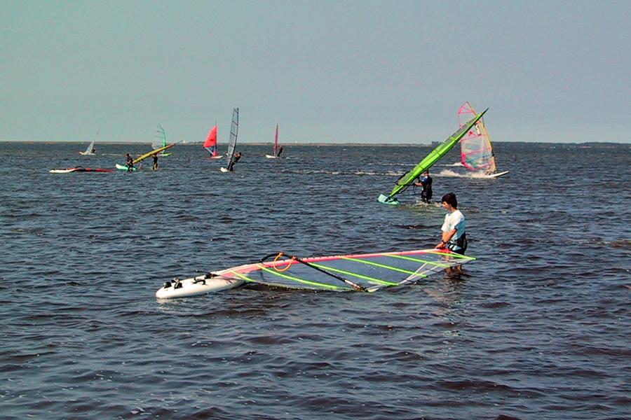 Windsurfen vor Volsvitz