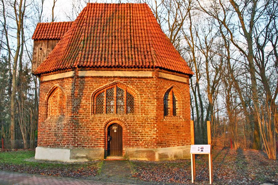 Kapelle Bessin Januar 2005