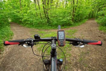 Fahrrad mit GPS