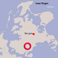 Karte Lage Garz