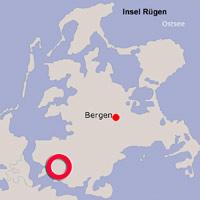 Karte Lage Gustow