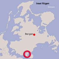 Karte Lage Zudar