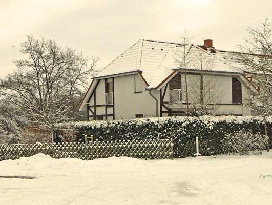 Ferienpark Gustow im Winter