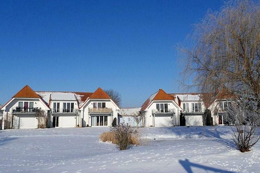 Ferienresidenz am Nationalpark in Volsvitz im Winter