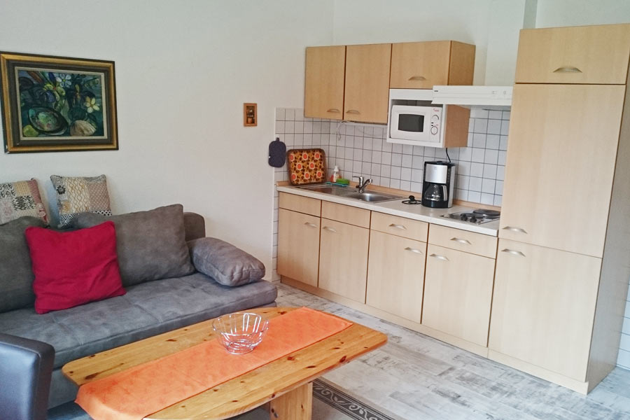 Wohnzimmer Fewo W04