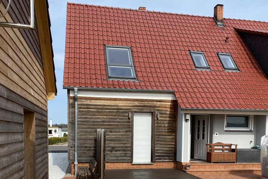 Apartmenthaus in Gingst Vorderseite
